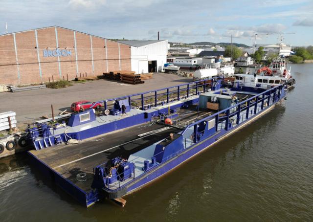 roro fartyg Göteborg Asterix inlandssjöfart sandinge